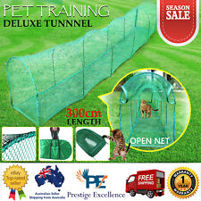 Cat Tunnel Walk Run Pet Play Deluxe Outdoor Training Foldable Portable Enclosure