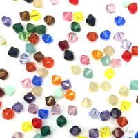 50 pcs Swarovski 5328 XILION Crystal Bicone Beads Assorted MIX Colors *Pick Size