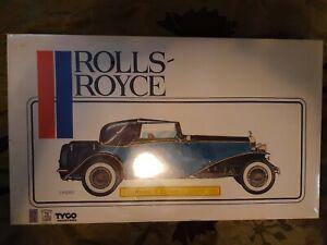 Tyco Pocher model 1/8 scale1932 rolls royce phantom 2 in ORIGINAL SHRINK WRAP!