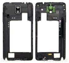 CORNICE CENTRALE per Samsung n9005 Galaxy NOTE 3 NERO middle plate FRAME TASTI