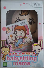 COFFRET JEU WII + POUPEE BABYSITTING MAMA - COOKING MAMA WORLD neuf