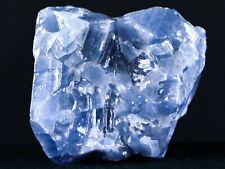 New ListingIce Blue Calcite Crystal Rough Mineral Specimen Nuevo Leon Mexico 2.3 Ounces