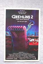 Gremlins part 2 Lobby Card Movie Poster Zach Galligan Phoebe Cates John Glover__