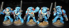 40K Space Marines Vanguard Squad A painted