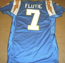 SAN DIEGO CHARGERS DOUG FLUTIE THROWBACK AUTHENTIC GAME JERSEY USA MADE SIZE 46