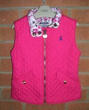 JOULES Girls Pink Quilted Bodywarmer Gilet Coat Jacket Age 4 104cm