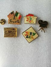 5 Pin's Pins JERY & CO