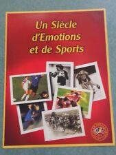 France 2000. Le siècle au fil du timbre. Le sport. Bloc 1.