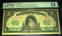 PRINCESS PATRICIA .1917 $! DOMINION OF CANADA PMG 12