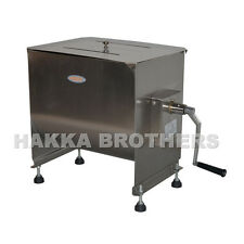 Hakka 60 Pound /30 Liter Capacity Tank Commercial Manual Meat Mixers  FME30