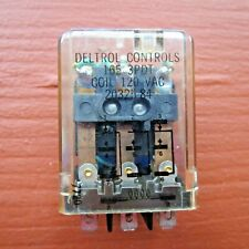 Deltrol Controls165 3PDT Relay Coil 120VAC 20325.-84