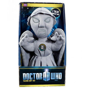 DOCTOR WHO WEEPING ANGEL TALKING PLUSH  -  BRAND NEW GREAT GIFT SOFT TOY
