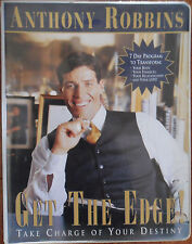 Anthony Robbins~GET THE EDGE Take Charge of Your Destiny!~8 Audiotapes &VHS