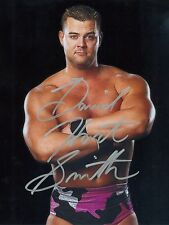 DAVID HART SMITH WWE SIGNED AUTOGRAPH 8X10 PHOTO
