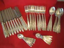 Rokoko Besteck BALLERINA 100er Silber 48 teile 12 P