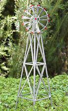 Miniature Dollhouse Fairy Garden Accessories ~ Iron Windmill ~ New