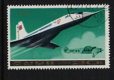 JET LINER &  PROPELLER PLANES KOREA 1978 CTO NEVER HINGED AIRCRAFT