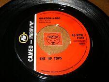 THE TIP TOPS - OO KOOK A BOO - HE'S BRAGGIN   / LISTEN - GIRL GROUP POPCORN