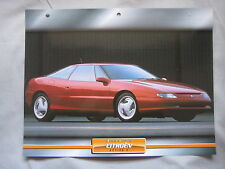 Citroen Activa 2 Dream Cars Card