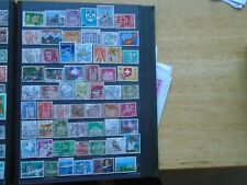 Switzerland. Private lot of 58 different Stamps. Some high Values.