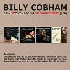 Billy Cobham - Drum N Voice Vol 1-4: Complete Series [New CD] UK - Import