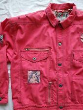 New listing Vtg East West Panda Group Pink Spring Embellished Jacket Size Large