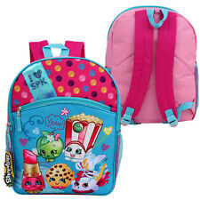 "16"" Backpack SPK SHOPKINS School BookBag w/ Front Pocket NEW"