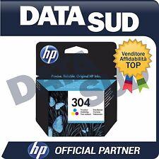 CARTUCCIA HP 304 ORIGINALE TRI-COLORE INK-JET PER HP Deskjet 3720, 3730, 3732