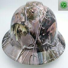 New Custom pyramex (Full Brim) Hard Hat W/ratchet suspension REALTREE APG CAMO
