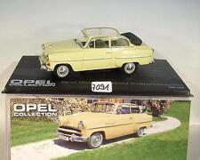 Opel Collection 1/43 Opel Olympia Rekord Cabrio 1954 - 1956 in Plexi Box #7091