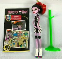 OPERETTA Rollar Maze Scultimate Monster high Doll Excellent used cond 2011