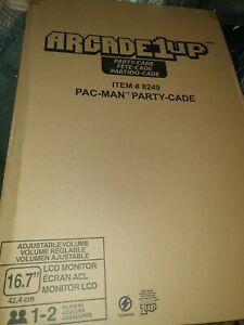 """**LIMITED EDITION** Arcade1Up 16.7"""" LCD Game Machine, 4 Games including Pacman"""