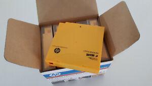 Boite 5 Cartouches HP C7973A - LTO3 Ultrium RW Data Cartridge - 800 Go