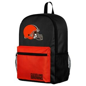 NFL Cleveland Browns Two Tone Backpack with Team Logo