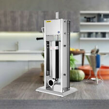 20lbs Sausage Stuffer Vertical Stainless Steel 7l Two Speed Meat Press Filler