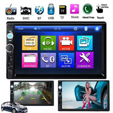 Car Stereo Radio Bluetooth Audio Receiver Double Din 7