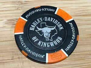 Harley Davidson Poker Chip Kingwood Texas