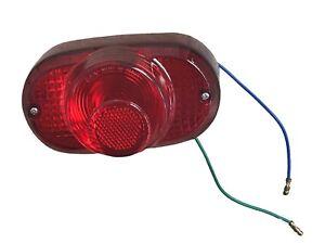 "NEW! 6 Volt Tail Light 3-1/2"" x 5-1/2"" Universal Motorcycle Harley Honda Indian"