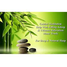 Guided Meditation For Deep & Natural Sleep & Bonus Ultimate Relaxation Music CD