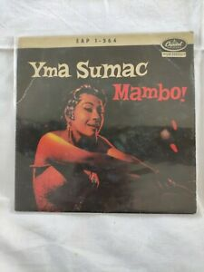 YMA SUMAC Mambo  EP CAPITOL RECORDS 1964 BIEM