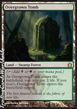 Overgrown Tomb // Foil // NM // Return to Ravnica // engl. // Magic Gathering