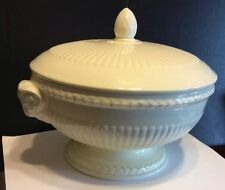 Wedgwood Edme Rams Head Footed Covered 1 1/2 Quart Vegetable Bowl Pristine