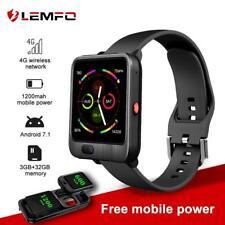 Lemfo Lem11 4G Smart Watch Android 7.1 Camera Gps Wifi 1200mah Heart rate