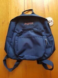 NEW JanSport Half Pint Classic Mainstream Bag (Navy)