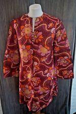 Vintage Retro St Michael Junior Miss Floral Dress 60s - Size 10