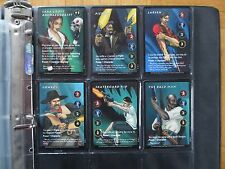 Tomb RAIDER CCG-all 50 RARE R CARDS - 151-200 Lara Croft Trading GUN BIG GAME