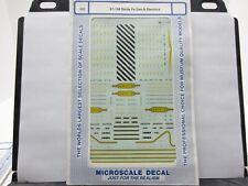 MICROSCALE DECAL 87-168 SANTA FE GAS ELECTRIC MOTOR CAR