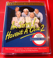 I'm Sorry I Haven't A Clue 2 2-Tape Audio Mornington Crescent Humphrey Lyttelton