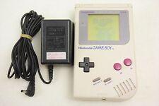 Nintendo GAME BOY ORIGINAL Console Classic + AC Adapter GB-8 Set Japan 0414 gb