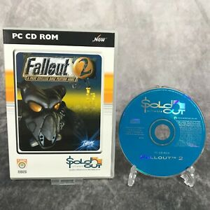 Fallout 2 PC Game Boxed CD-Rom RPG Classic Interplay